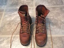 VTG. RED WING'S IRISH SETTER BROWN LEATHER SPORT/WORK BOOTS MADE USA SZ 6 1/2 A