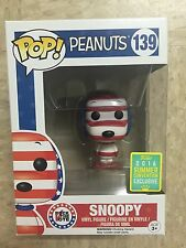 Funko POP! - Peanuts - Snoopy (Rock The Vote) #139 - 2016 Summer Convention SDCC