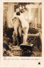 CPA Salon 1910 JAN STYKA Baiser d'Eunice (703180)