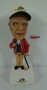 Tom Carnegie Talking Bobblehead Indianapolis Motor Speedway Track Announcer
