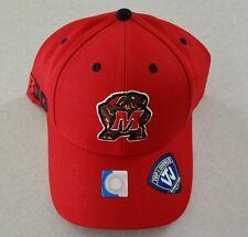 Top of the World MARYLAND TERRAPINS Adult Brim Cap Hat BIG TEN Adjustable #23516