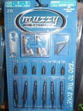 MUZZY, 125 GRAIN, 3 BLADE, 1-3/16  CUT BROADHEADS 6 PACK