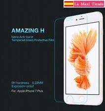 "Cristal templado Nillkin para ""iPhone 7 Plus / 8 Plus"" protector pantalla 9h"