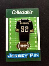 Pittsburgh Steelers James Harrison jersey lapel pin-Throwback Fan Fav PLAYER!