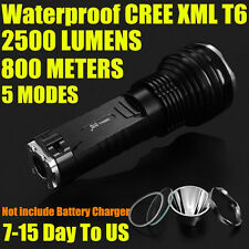 SMALL SUN 800 METER 2500 LUMEN TACTICAL CREE XM-L T6 LED FLASHLIGHT TORCH T8AU