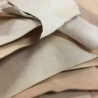 Vegetable Tanned Cowhide Leather Remnants and Scrap 2lbs