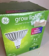 GE Grow Light LED Balanced Light Spectrum For Seeds and Greens 32w 50 MPS