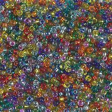 8/0 Rainbow Mix Mix Glass Round Seed Beads by Miyuki 10Grams #11-Mix-29
