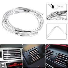13ft Auto Car Silver Styling Chrome Moulding Trim Strip Adhesive Exterior Decor