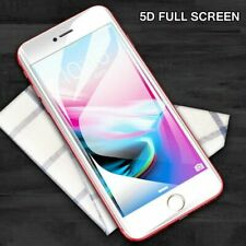 5D For iPhone 7 PLUS Full Glue Cover Tempered Glass Screen Protector - WHITE