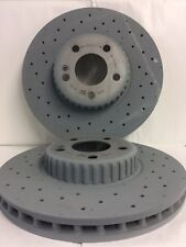 Genuine Mercedes-Benz W205 C-Class FRONT Bonded AMG Brake Discs A0004212112 NEW