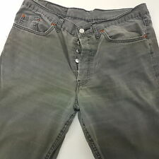Levi's 501 Mens Vintage MADE USA Summer Trousers Jeans W34 L33 Regular Straight