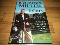 Johnny Miller I Call The Shots PGA Golf Champion Announcer Jack Nicklaus Watson