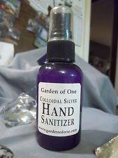 STRDSTBL - Garden of One Colloidal Silver 2oz Anti-Bacterial Sanitize Spray