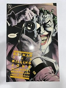 Batman The Killing Joke 3rd print VF+ condition