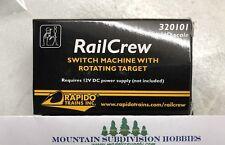 Rapido 320101 Railcrew Switch Machine Modelrrsupply Buy 2+ save 5% & $5 Offer