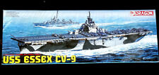 Dragon Models 1/700 Plastic Model Kit USS Essex CV-9 #7049 Brand New Sealed