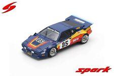 SPARK LM S6406 BMW M1 #85 24h Le Mans 1982 Garcia Stiff Naon 1/43