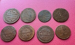 1718-1797 German States & Sweden coins/jettons