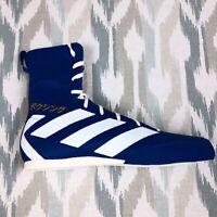 Adidas Box Hog 3 Men's Performance Boxing Shoes Blue EG5170 Size 8/9.5/10/11