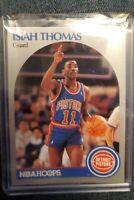1990 NBA Hoops Isiah Thomas #111 PSA 8