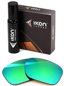 Polarized IKON Replacement Lenses For Costa Del Mar Rincon - Emerald Green