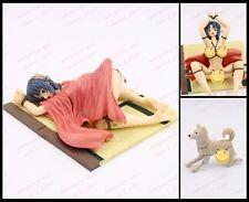 Hentai anime sexy naked nude bound kimono girl & dog action figure red ver nobox