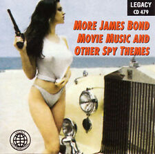 MORE JAMES BOND MOVIE MUSIC AND OTHER SPY THEMES (007) CD [B16]
