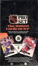1991/92 Pro Set English/French Series 2 Hockey Box - Hockey Cards