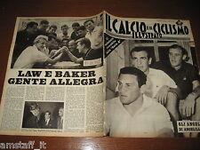 IL CALCIO E CICLISMO ILLUSTRATO 1961/31=ANGELILLO=CALENDARIO SERIE A=LAW BAKER=