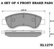 Ebc Ultimax Front Brake Pads Dp1374 Citroen C2 1.6 Vts 04