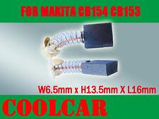Carbon Brushes For Makita CB154 CB153 Saw 6.5X13.5X16mm LS1500 5014B 9607 3600NB