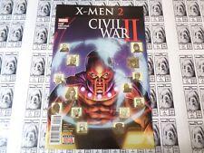 Civil War II X-Men (2016) Marvel - #2, Magneto Leads, Bunn/Broccardo, NM-