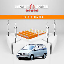 KIT 4 CANDELETTE SEAT ALHAMBRA 2.0 TDI 103KW 140CV 2010 -> CGP002
