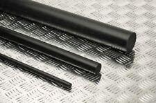 "Delrin - Acetal Plastic Rod 3/4"" Diameter x 48"" Length - Black Color"