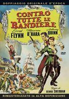 CONTRO TUTTE LE BANDIERE  DVD AVVENTURA*A&R*