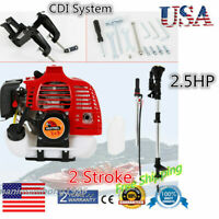 2-Stroke 2.5 HP Outboard Motor Fishing Boat Engine with CDI System Gasoline USA