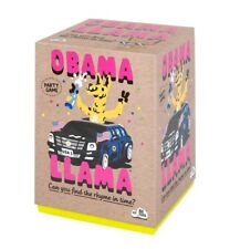 NEW! Obama Llama: The Celebrity Rhyming Party Card Game by Big Potato (Target)
