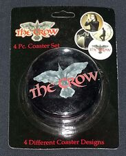 Crow Coasters 4 Different Designs in Tin Neca 2002 Mint in Package/Sealed