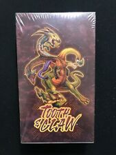 Warlord's Saga of the Storm Tooth & Claw Booster Box - Factory Sealed