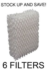 Humidifier Filter for American Red Cross Y7087 (6-Pack)