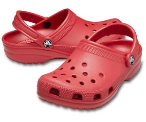 CROCS Baya Size 13 Pepper Red Color Men's Clogs New With Tags