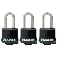 Master Lock 1-9/16 in. Covered Laminated Stainless Steel Keyed Padlock