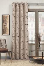 Ösenschal Ösenvorhang natur beige Vorhang mit Ösen Deko Gardine BxH 135x245cm