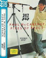 PAUL MCCARTNEY PIPES OF PEACE IMPORT SAUDI 747 CASSETTE ALBUM 16 TRACKS BEATLES