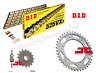 Honda VFR400 NC30 DID Gold X-Ring Heavy Duty Chain and JT Sprockets Kit Set