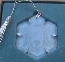 Lenox China Crystal Nativity Christmas Ornament in Box