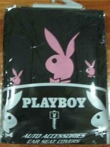 THROW OVER WITH PINK PLAYBOY LOGO, SEAT COVER FIT TOYOTA CAMRY,