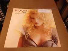 RAIANA PAIGE OPEN UP YOUR HEART SLEEPING BAG  RECORDS PIC SLEEVE   VINYL 12'' V