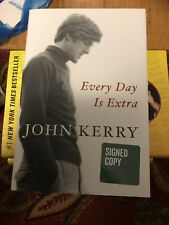 EVERY DAY IS EXTRA BY JOHN KERRY SIGNED BOOK  1ST EDITION SECRETARY OF STATE